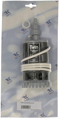Preisvergleich Produktbild Unbekannt Reich Twin Tauchpumpe,  19 l,  Weiß