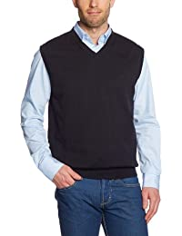 CASAMODA Herren Pullunder Comfort Fit 004160/80