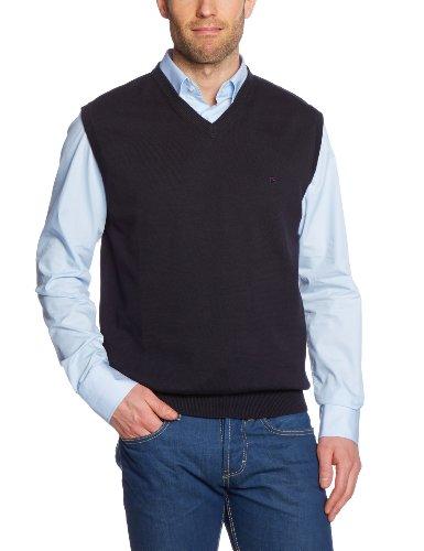 CASAMODA Herren Pullunder Comfort Fit 004160/80, Gr. 58 (3XL), Schwarz (80 schwarz)
