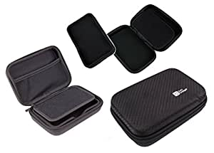 "DURAGADGET Black Hard 5"" Satnav Case for devices including Garmin Nuvi 2595LMT"