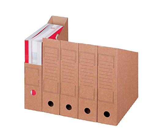 Smartbox Pro Archiv-Stehsammler, 20er Pack, braun -