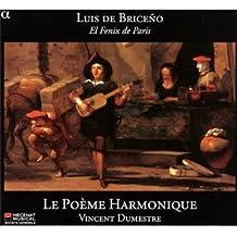 Luis de Briceño : El Fenix de Paris, airs & danses espagnoles