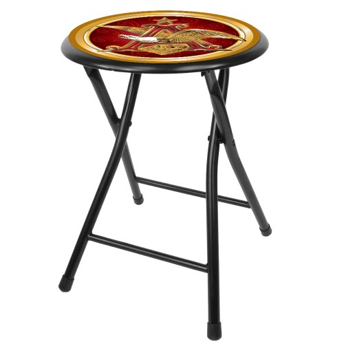 anheuser-busch-a-eagle-18-inch-folding-stool-black