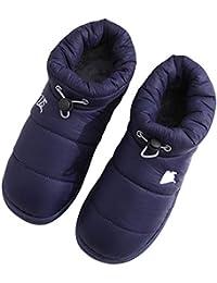 bdff08cc4f696 Mini Balabala Pantofole Invernali Donna Uomo Peluche Morbido Antiscivolo  Chiuse Scarpe Ciabatte della Camera da Letto