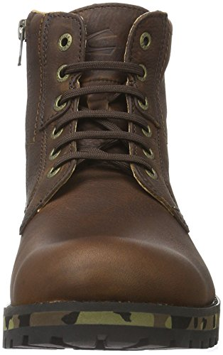 Camel Active Adventure 11, Bottes Motardes Homme Marron (Mocca/Camouflage/02)
