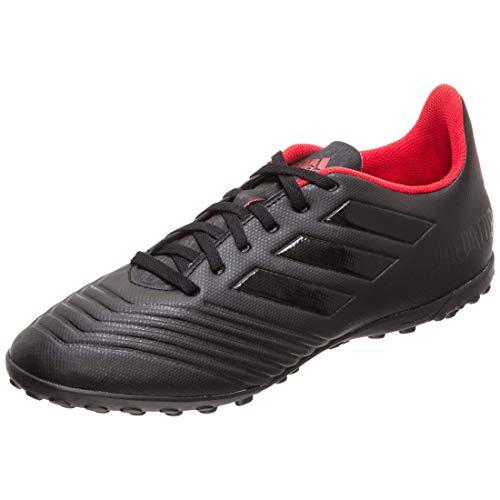 adidas Herren Predator 19.4 Tf Fußballschuhe, Mehrfarbig Negbás/Rojact 000, 44 EU - Fußball Schuhe Kunstrasen