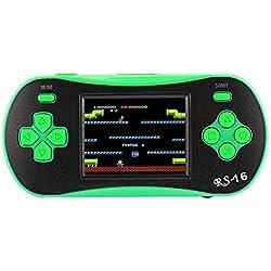 Womdee Console de Jeu rétro Classique rétro avec Jeux vidéo Portables NES de 6,3 cm 8 Bits intégrés, 260 Jeux d'école, Cadeaux d'anniversaire pour Enfant