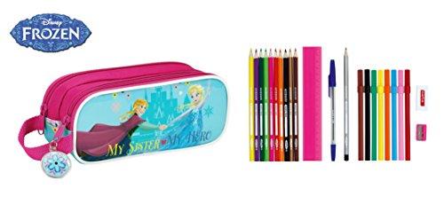 Disney Frozen – Portatodo Lleno, 23 Piezas, 21 x 8 cm (SAFTA 811515707)