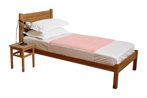 Kylie Premium Betteinlagen, 1 Liter, 50 x 74 cm, waschbar, saugfähig, Inkontinenzbettlaken, wasserdichte Rückseite, 50 cm Matratze, Lappen auf jeder Seite