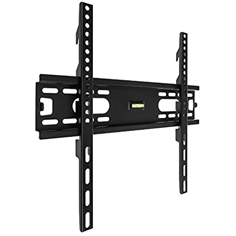 "Yousave Accessories Slim Compact Fixed Position TV Wall Mount Bracket for 26"" to 55"" LED, LCD and Plasma Flat Screen Televisions"