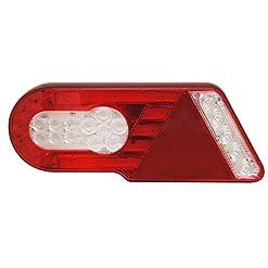 Un set di 2pezzi 6in 1molto elegante combinazione LED luci posteriori Luci di coda posteriori per camion rimorchio Caravan Camper 12~ 24V ECE IP67genehmigt polvere e impermeabile