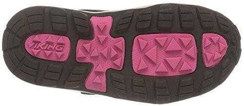 Viking Sludd, Chaussures Bateau Mixte Enfant Violet - Violett (Plum/Aubergine 6283)
