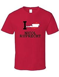 I Love Nicol Ruprecht Austria Gymnastics Olympics T Shirt XXXX-L