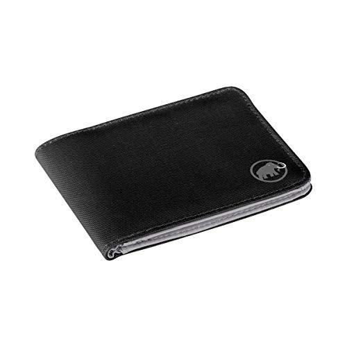 Mammut Geldbörse Flap Wallet Mélange, Black, 12 x 9 x 1 cm, 2520-00710-0001-1