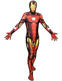 Halloween Party Digital Morphsuit Iron Man Ganzkörperkostüm