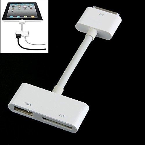 Dock Connector auf HDMI HDTV für iPad 2iPhone 44S (Iphone 4s-tv-adapter-kabel)