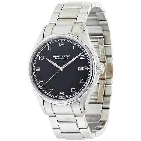 Hamilton H39515133 - Reloj para hombres, correa de cuero color negro