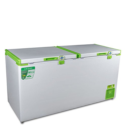 Rockwell Industries Ltd. Rockwell Green Freezer (500 Liters, Color: White & Green)