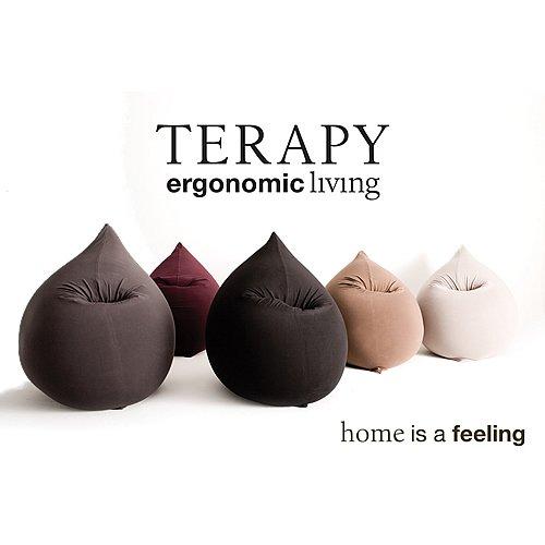 Terapy Ergonomic Living Terapy–Maxi Beanbag ORANGE