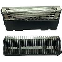 Afeitadora eléctrica y cortador para Braun Series replacement foil (424)