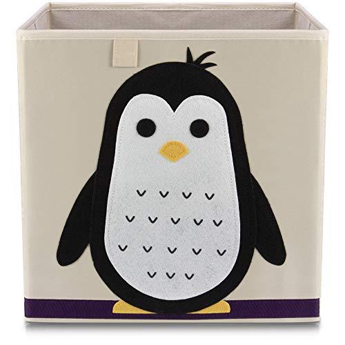 Lifeney Kinder Aufbewahrungsbox I praktische Aufbewahrungsbox für jedes Kinderzimmer I Kinder Spielkiste I Niedliche Spielzeugbox I Korb zur Aufbewahrung von Kinder Spielsachen -