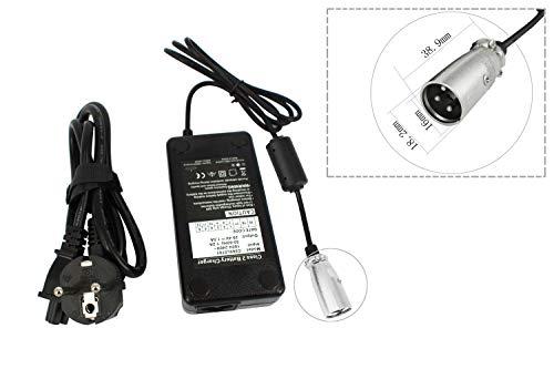 PowerSmart® Akku Ladegerät Netzteil, 29.4V 1,5A (für 24V Pedelec, E-Bike) mit Rundstecker