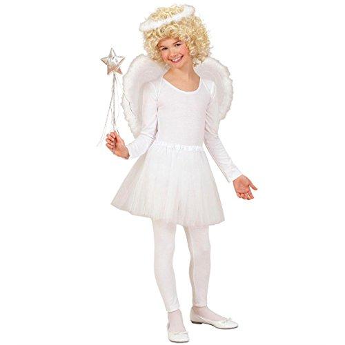 Kinderkostüm Engel Kostüm mit Flügeln Christkind Kinder Kostüm Engelskostüm Engelkostüm Weihnachten Gr 110/122