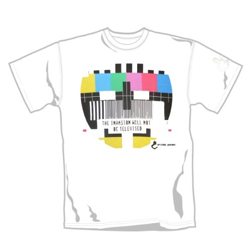 TELEVISED INVASION - INVASION T-Shirt Weiß