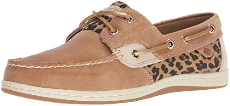 Sperry Wouomo Koifish Cheetah Boat scarpe, Linen, Linen, Linen, 5 M US   La prima serie di specifiche complete per i clienti    Uomo/Donna Scarpa  5a52ee