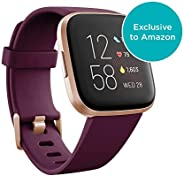 Fitbit Versa 2, Health & Fitness Smartwatch with Heart Rate, Music, Sleep & Swim Tracking, One Size (S