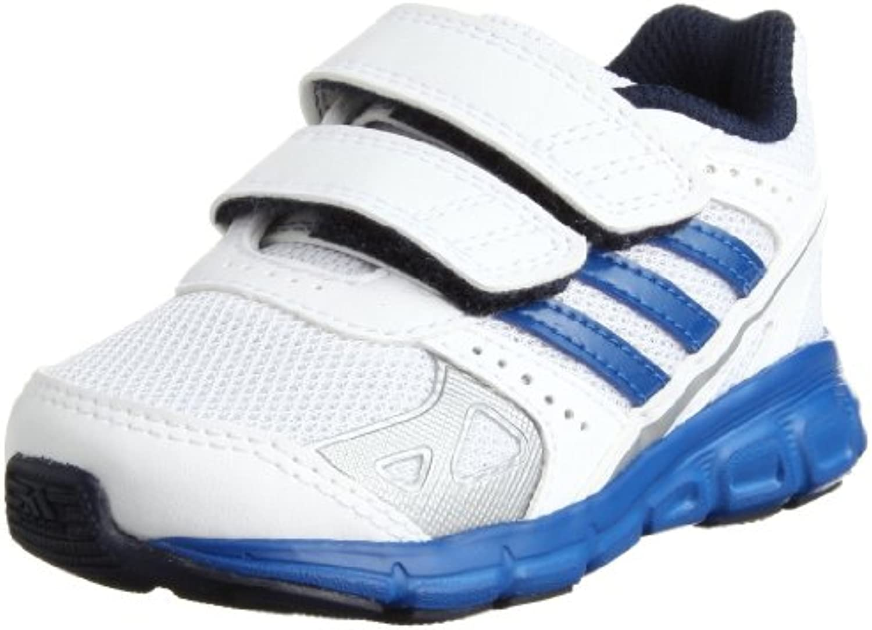 adidas Performance HyperFast CF D65738 - Zapatillas de tela para unisex-niño, color blanco, talla 20