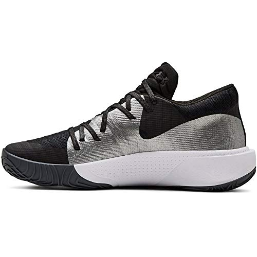 Under Armour Spawn Low, Zapatos de Baloncesto para Hombre, Negro Mod Gray/Black 001, 40 EU