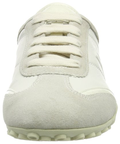 Geox D Snake X Damen Sneakers Elfenbein (off Whitec1002)