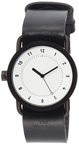 TID Watches Designer-Tragetasche mit Uhr, TID01-36WH / BK