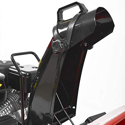 Hecht 9555 Benzin-Schneefräse (56 cm Räumbreite, 4 kW / 5,5PS, 4-Vorwärts-, 1 Rückwärtsgang)