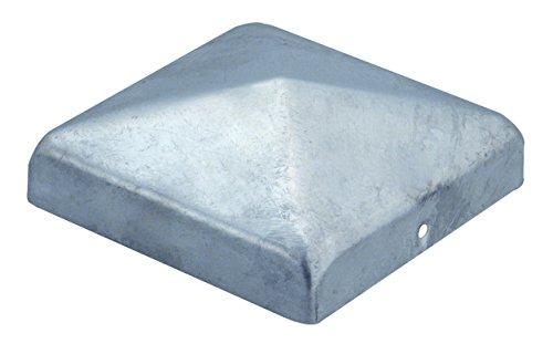GAH-Alberts Capuchon plat pour poteau en bois 100 x 100 mm / 1 Stk. Surface galvanisée à chaud