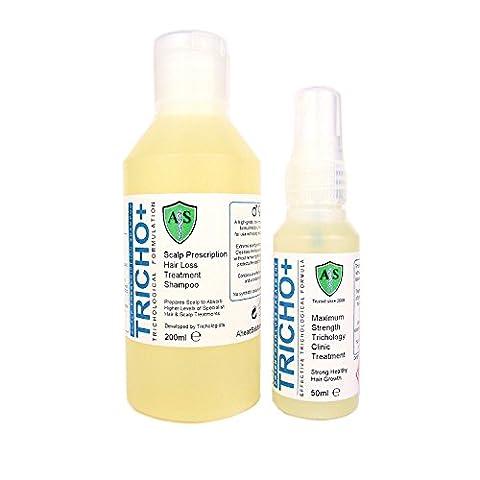 TRICHO+ Scalp Prescription Strong Minoxidil-Free Hair Loss Treatment for Men