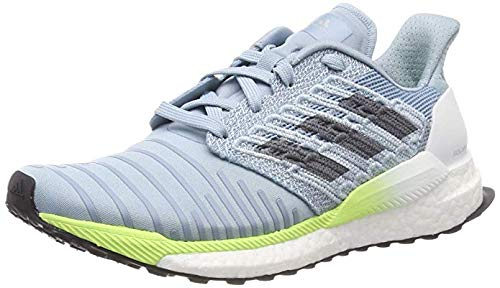 buy popular ac751 ea1c7 adidas Damen Solar Boost Laufschuhe Weiß Raw White Clear Mint Active  Purple, 40