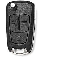 3 botones de repuesto remoto flip clave Fob Case Shell para Vauxhall Opel Corsa Astra Vectra