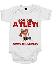 Body bebé Atlético de Madrid soy del atleti como ...