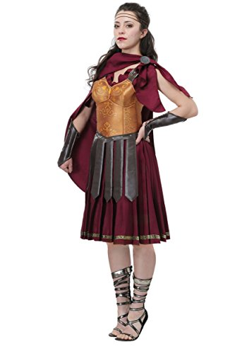 Gladiator Plus Size Women's Fancy dress costume 1X