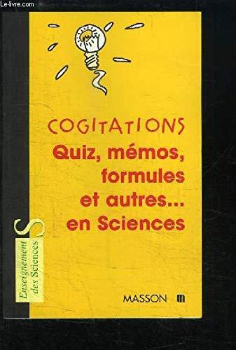 Cogitations (article promotionnel) par