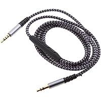 Gazechimp 1 Pieza de Cable de Audio de 3,5mm Macho a Macho Remoto Controlador Micrófono AUX Música