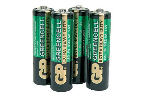 GP Greencell Heavy Duty Zink Chloride Verluste Drain aa LR06 Batterie 4Pack Heavy Duty Aa-batterien