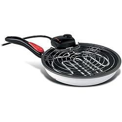 Girmi GR70 Oplà Elektrische Grillpfanne / patentierter Klappgriff / Grillfunktion / Thermostat / 1600 Watt