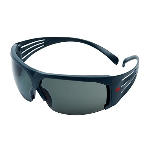 3M SF611AS Gafas de Seguridad, Montura gris, 1...