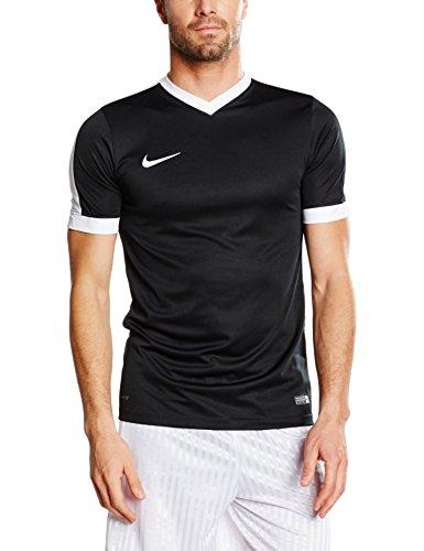 Nike - Maglietta Striker Iv A Manica Corta Da Uomo, Colore Nero/Bianco, Taglia L