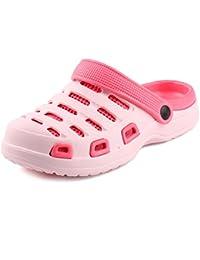 7d9c1143a gracosy Zuecos de Mula Zapatos de Verano Para Mujer Sandalias con Tachuelas  Zapatillas Ocasionales Para Jardín