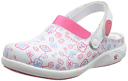 Oxypas Doria, Women's Safety Shoes, White (Flr), 5 UK (38 EU)