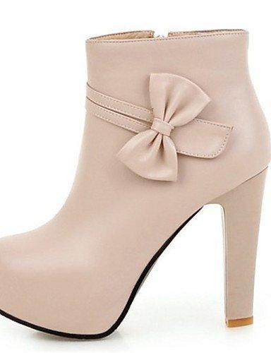26cfc5081a6483 ShangYi Mode Frauen Schuhe Damen Stiefel Frühjahr   Herbst   Winter    Plattform Fashion Stiefel Kunstleder